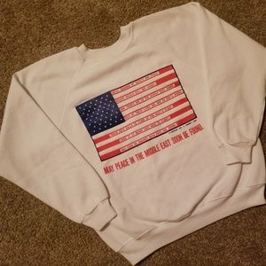 Vintage Operation Desert Shield Flag Sweatshirt